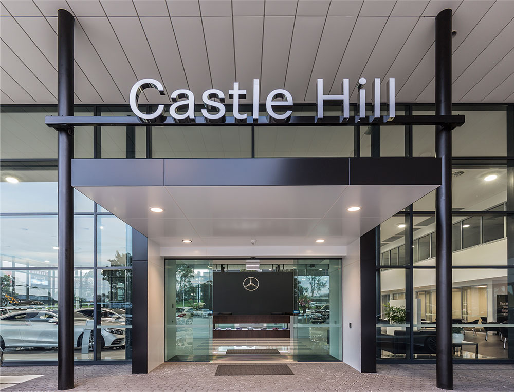 Mercedes-Benz Castle Hill SBA Architects 4
