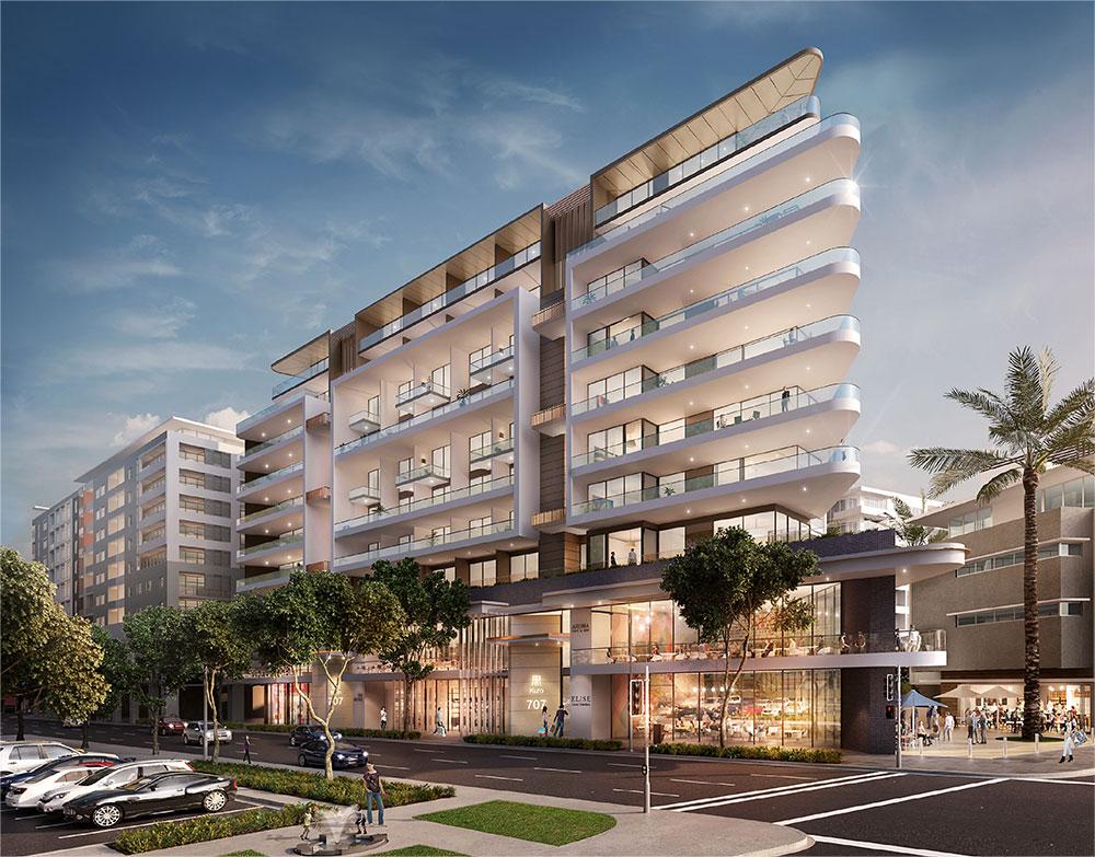 SBA Architects ANZAC Apartments 2