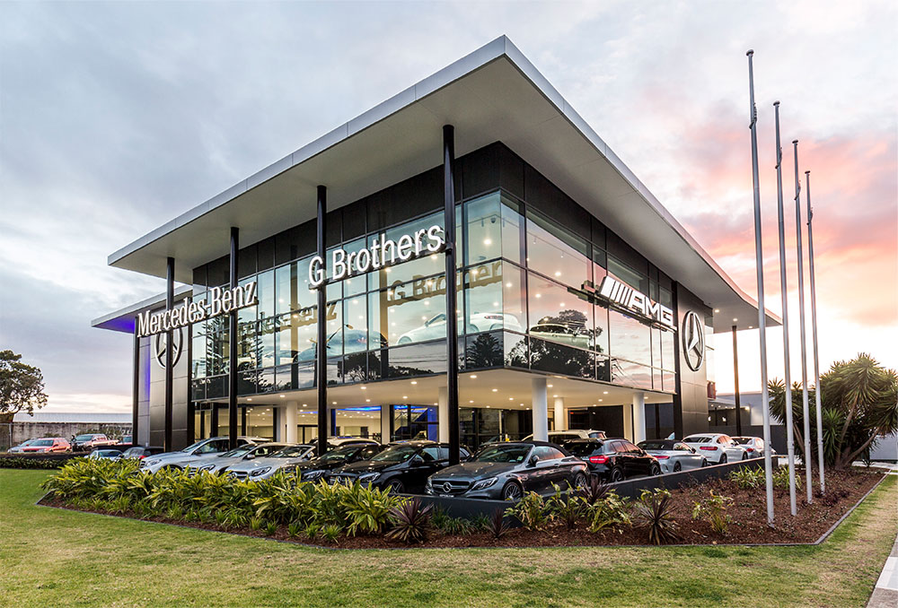SBA Architects Automotive Projects G Brothers