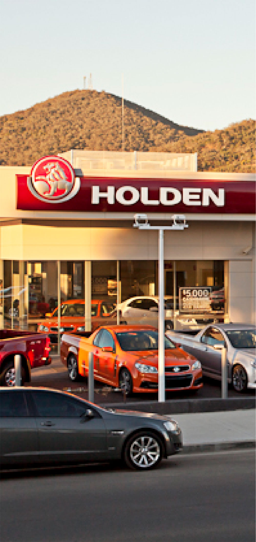 SBA Architects Automotive Projects Kensells Holden