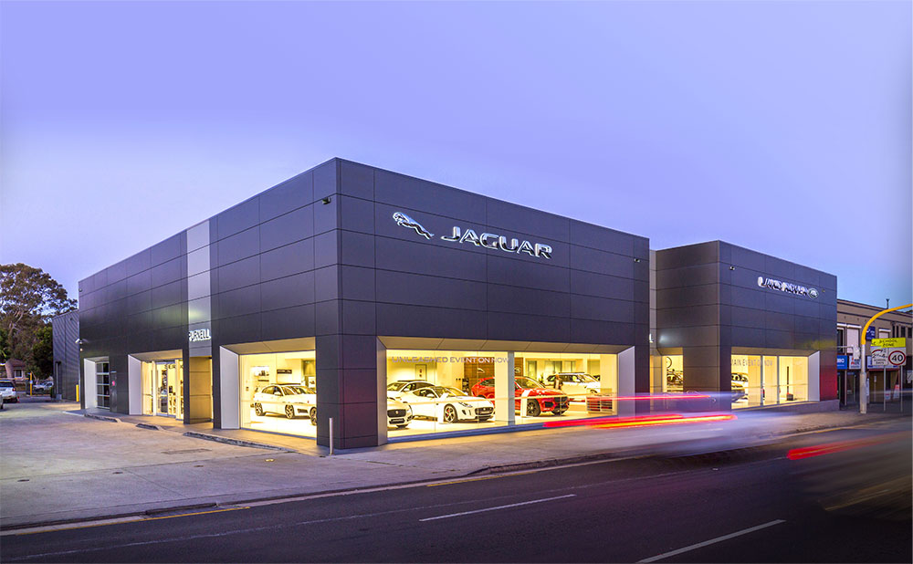 SBA Architects Automotive Projects Purnell Motors