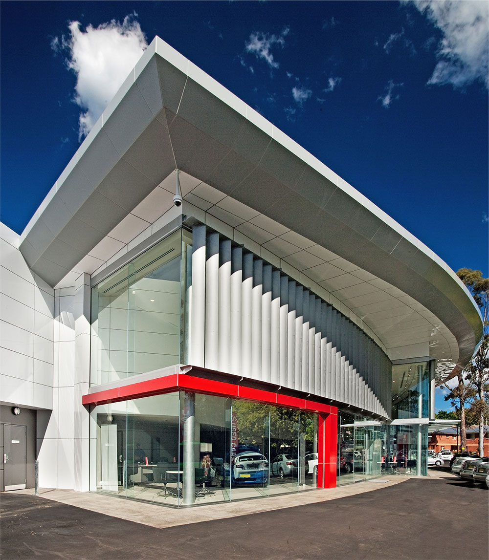 SBA Architects Automotive Projects Toyota Waitara 2