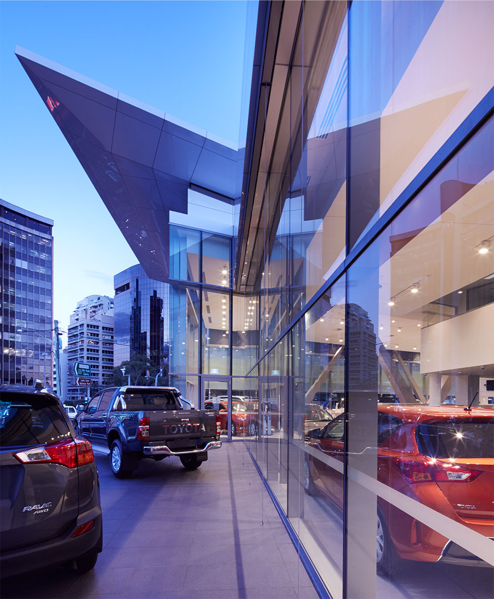 SBA Architects Automotive Projects Toyota