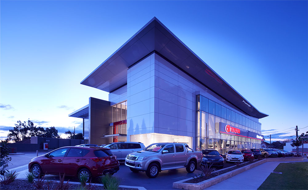 SBA Architects Automotive Projects Toyota 2