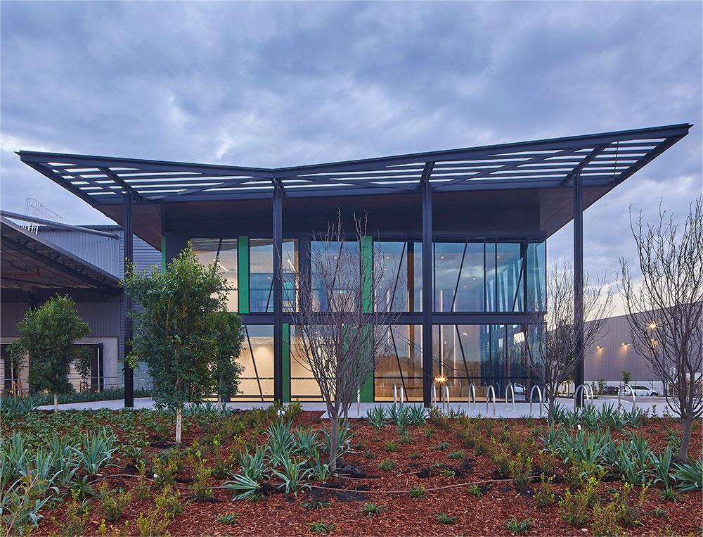 SBA Architects Commercial Calibre Estate Building 3 d