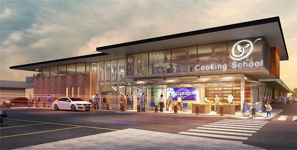 SBA Architects Sydney Cooking School