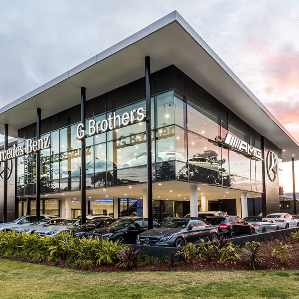 SBA Architects G Brothers Mercedes-Benz