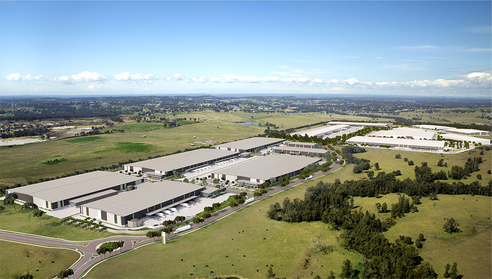 SBA Architects Oakdale Industrial Estate