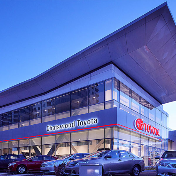 SBA Architects Toyota Chatswood