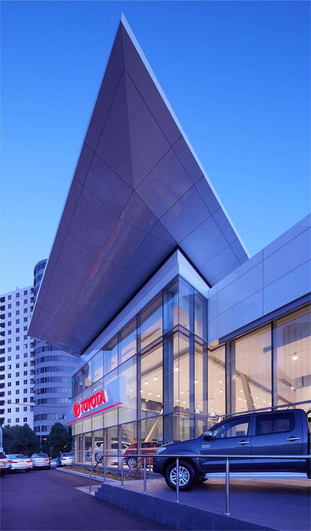 SBA Architects Greg Baird Toyota Chatswood
