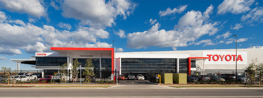 SBA Architects Industrial Toyota Parts 1