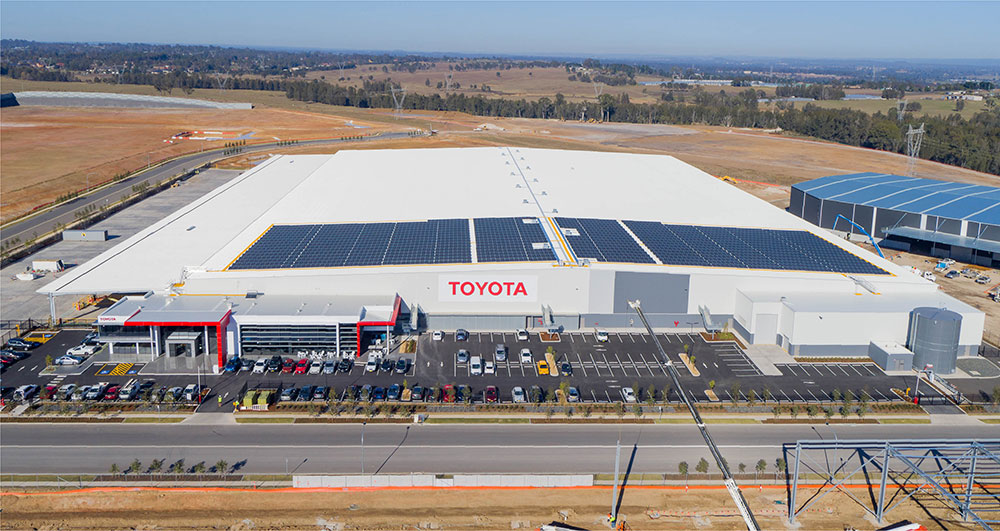 SBA Architects Industrial Toyota Parts 12
