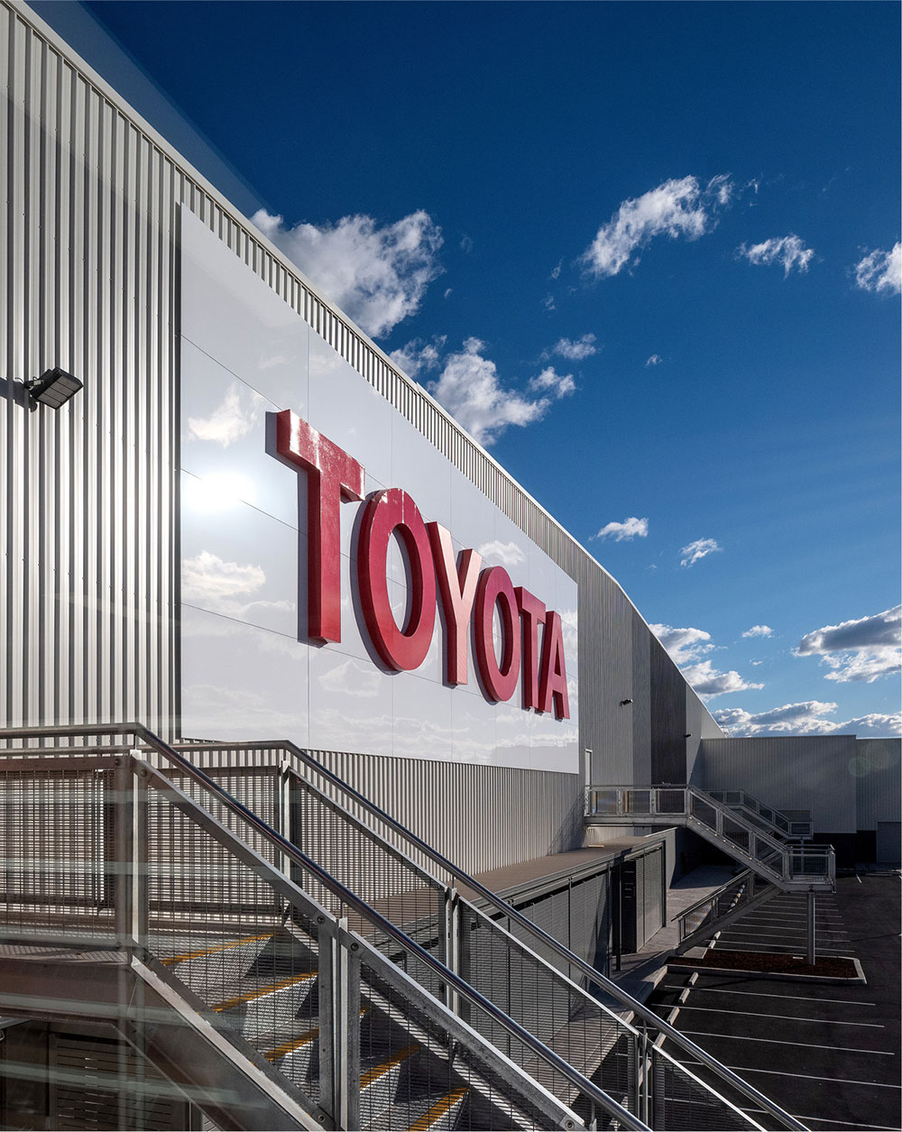 SBA Architects Industrial Toyota Parts 2