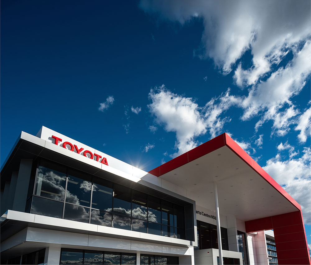SBA Architects Industrial Toyota Parts 3