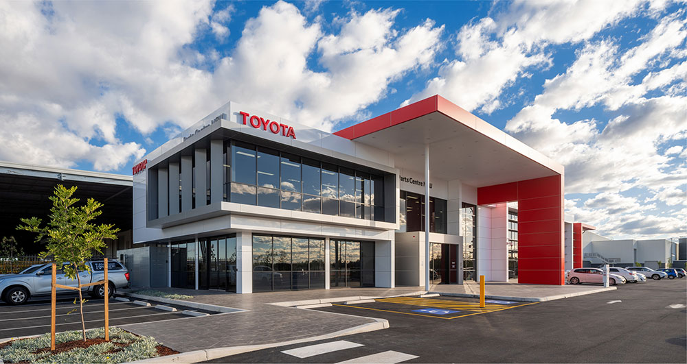 SBA Architects Industrial Toyota Parts 4