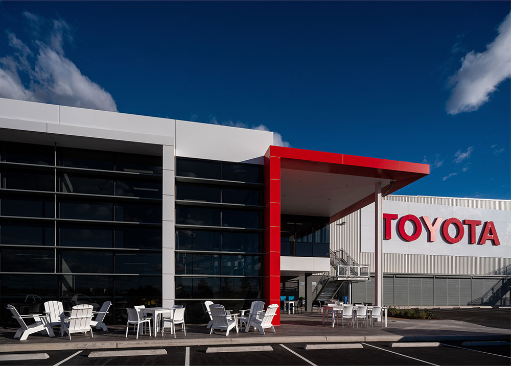 SBA Architects Industrial Toyota Parts 7