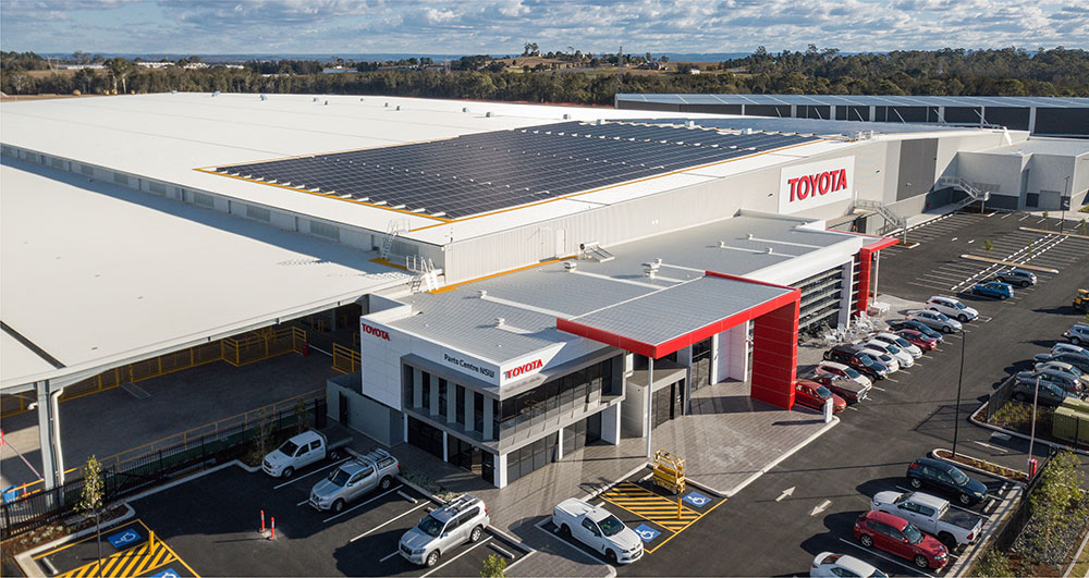 SBA Architects Industrial Toyota Parts 9
