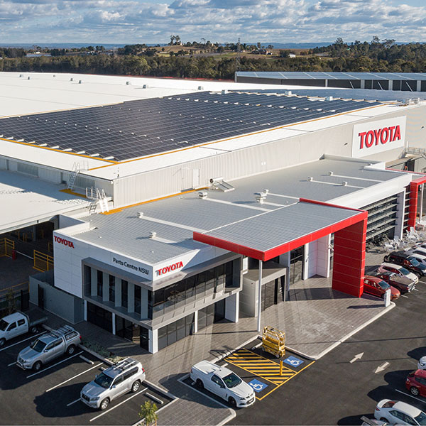 SBA Architects Industrial Toyota Parts