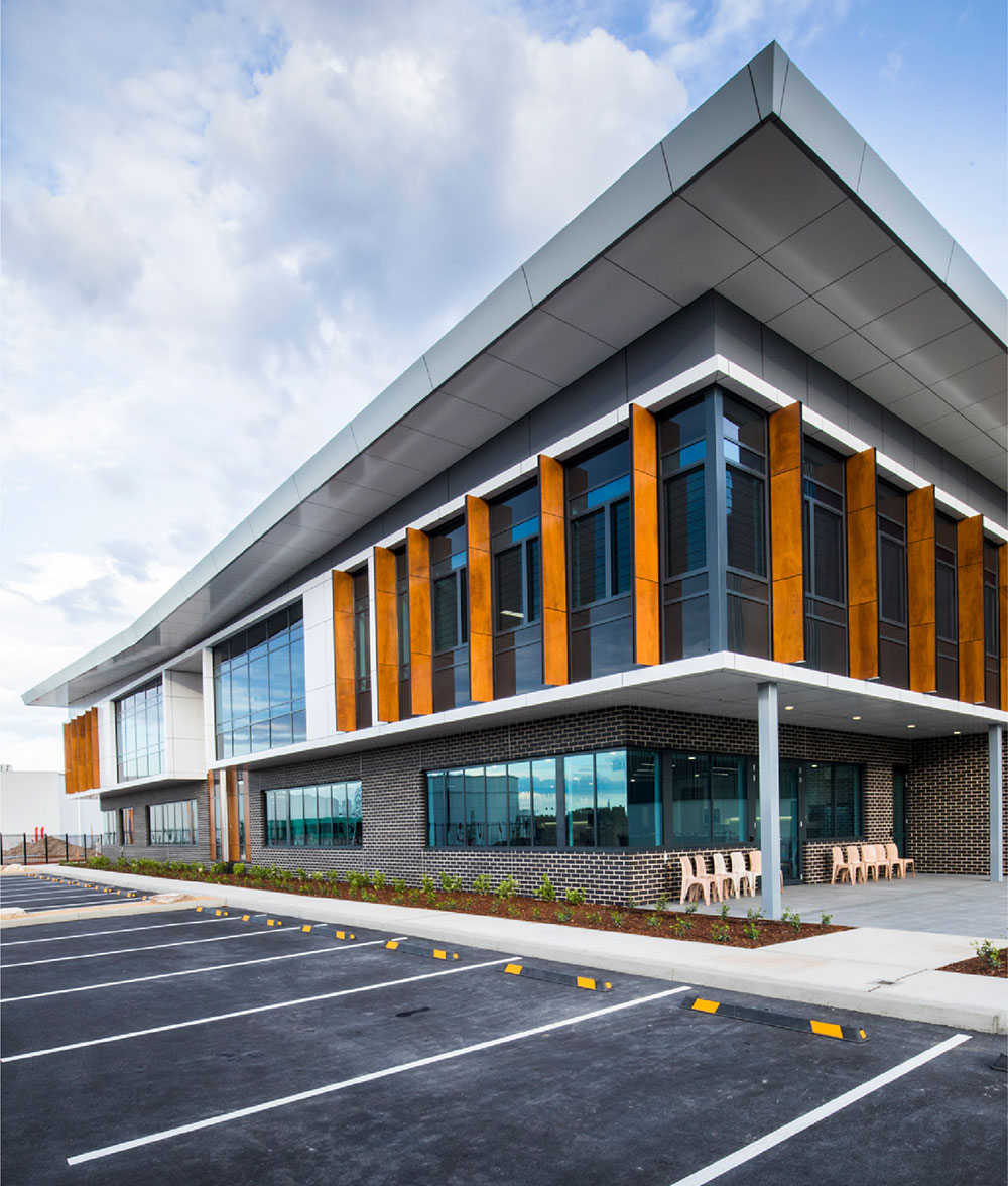 SBA Architects Industrial Projects Briggs & Stratton
