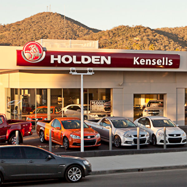 SBA Architects Kensells Holden automotive