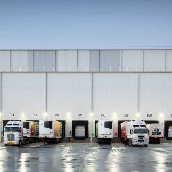 SBA Architects NewCold Advanced Cold Logistics High Bay Warehouse
