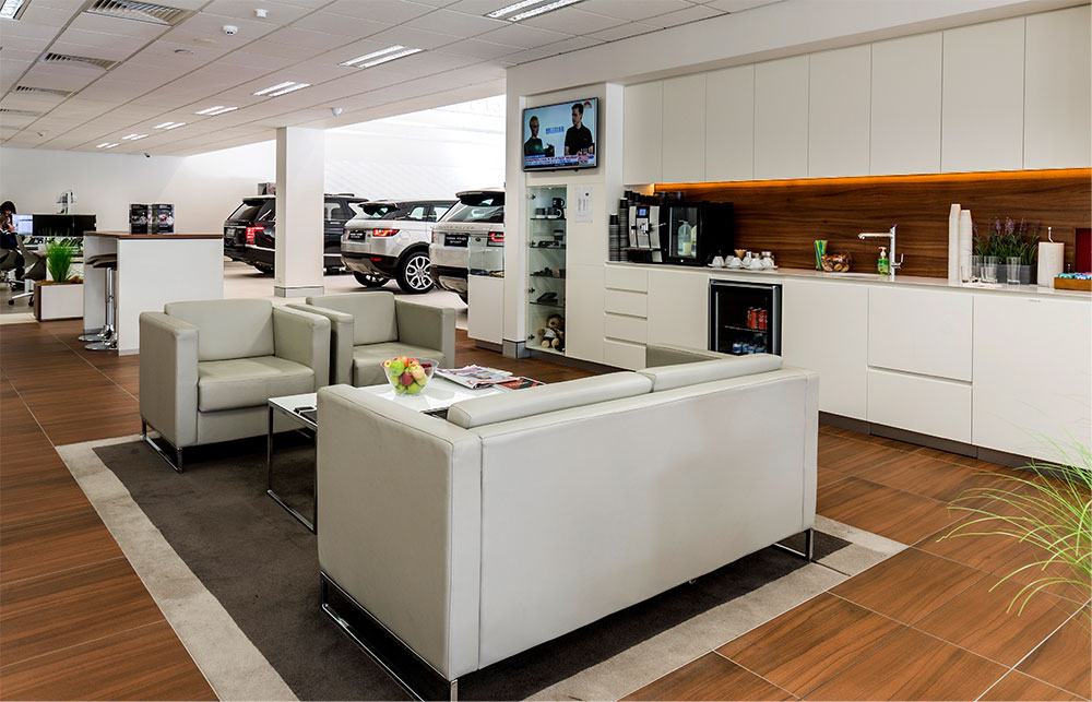 SBA Architects Purnell Motors interior
