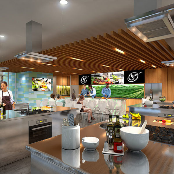 SBA Architects Sydney Markets Cooking School 2