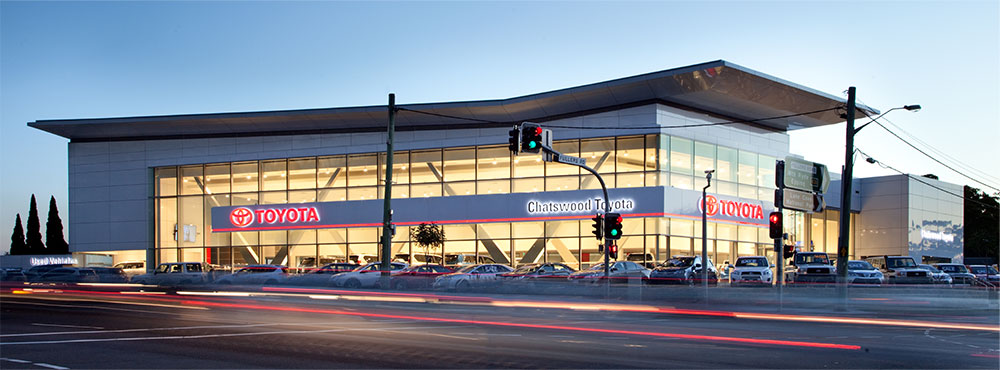 SBA Architects Toyota Chatswood 1