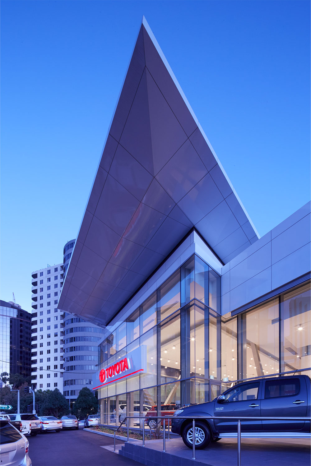 SBA Architects Toyota Chatswood 3