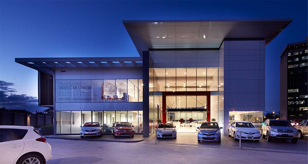 SBA Architects Toyota Chatswood 4