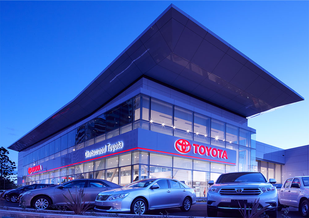 SBA Architects Toyota Chatswood 5