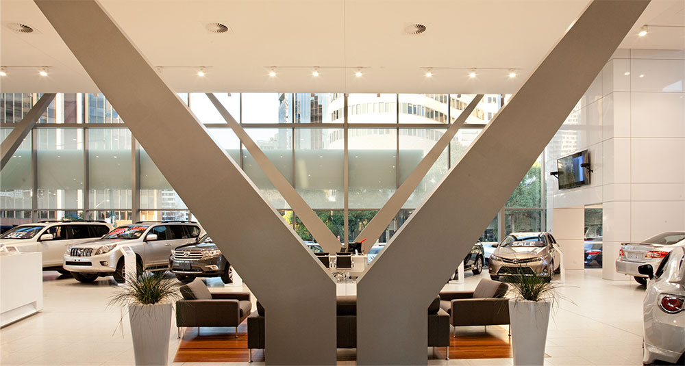 SBA Architects Toyota Chatswood 8