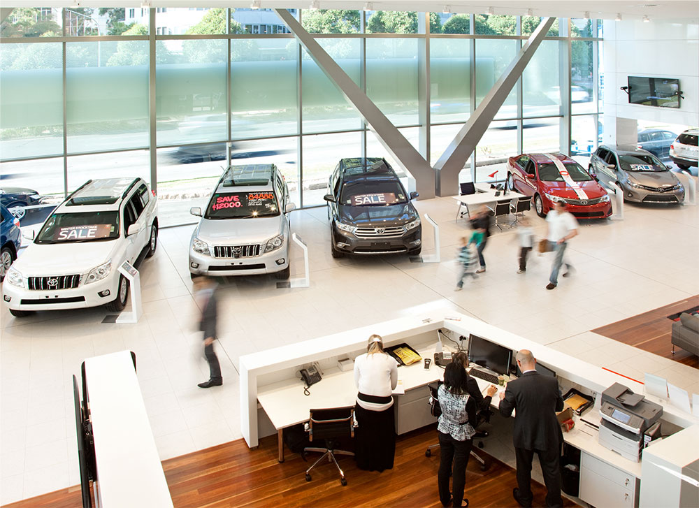 SBA Architects Toyota Chatswood 9